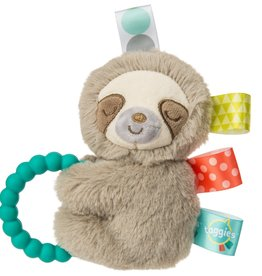 MARY MEYER STUFFED TOYS Taggies Teether Rattle Molasses Sloth