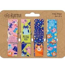KARMA Chip Clips Cat