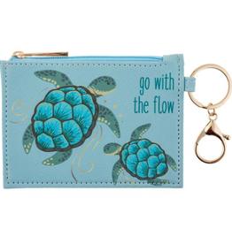KARMA Zip ID Holder Turtle