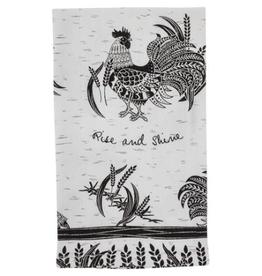 KARMA Boho Tea Towel Rooster