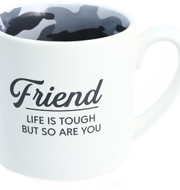15oz Mug- Camo Friend Life is Tough