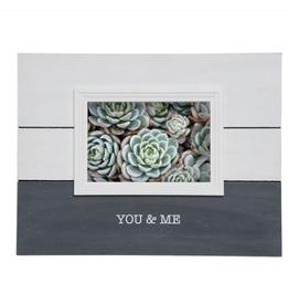 4x6 You & Me Photo Frame