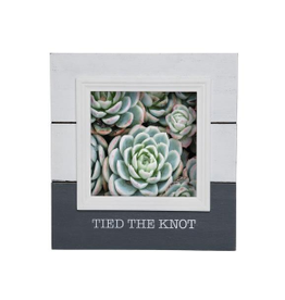 5x5 Tied The Knot Photo Frame