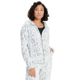 UGG Tasha White Leopard Hoodie