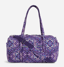 VERA BRADLEY Iconic Medium Travel Duffel Regal Rosette