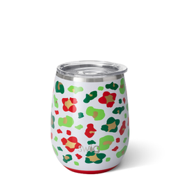 SWIG LIFE 14oz Stemless Wine Jingle Jungle