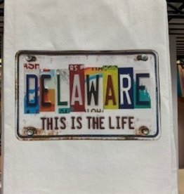 MARIASCH STUDIOS INC Flour Sack Towel This Is The Life Delaware