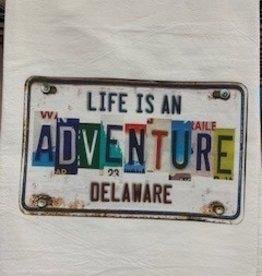 MARIASCH STUDIOS INC HuckTowel Delaware Life Is An Adventure