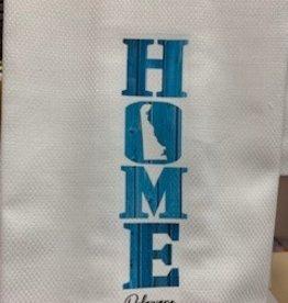 MARIASCH STUDIOS INC Huck Towel Delaware Home