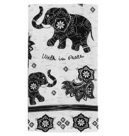 KARMA Boho Tea Towel Elephant