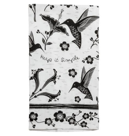 KARMA Boho Tea Towel Hummingbird