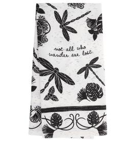 KARMA Boho Tea Towel Dragonfly