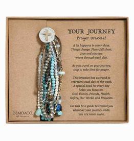 Your Journey Prayer Bracelet Turquoise