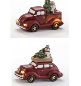 DELTON PRODUCTS CORP. Christmas Tree LED Auto 4 in Resin