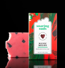 SOARING SUDS SOAP CO Artisan Soap Manic Melon