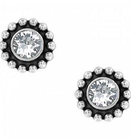 BRIGHTON Twinkle Mini Post Earrings Silver