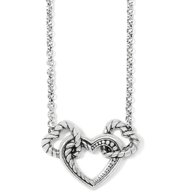 BRIGHTON Connected By Love Necklace silver
