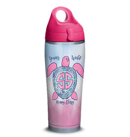 TERVIS TUMBLER Stainless Water Bottle -Simply Southern®  Happy Turtle 24oz