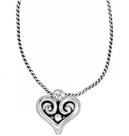 BRIGHTON Alcazar Heart Badge Clip