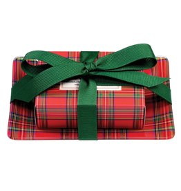 MICHEL DESIGN WORKS Gift Soap Set Tartan