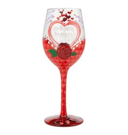 LOLITA You Have A Special Place Wine Glass