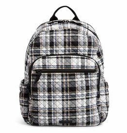 VERA BRADLEY Campus Backpack Cozy Plaid Neutral