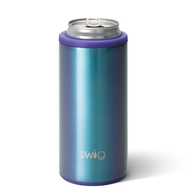 SWIG LIFE 12oz Skinny Can Cooler Shimmer Mermazing