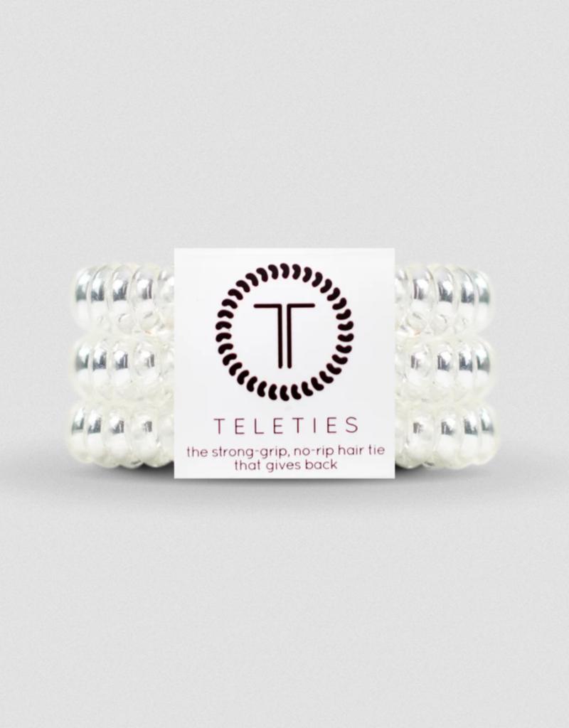 TELETIES 3 pack Hair Ties Neutrals