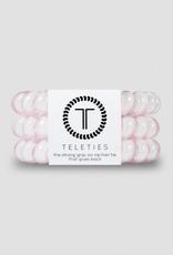 TELETIES 3 Pack Hair Ties Solid Colors