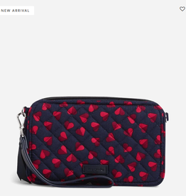 VERA BRADLEY RFID All in One Crossbody : Sweet Hearts