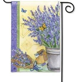 GARDEN FLAG Lavender