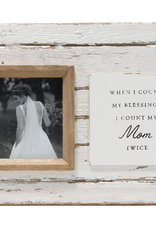 4x4 Jolene Mom Photo Frame