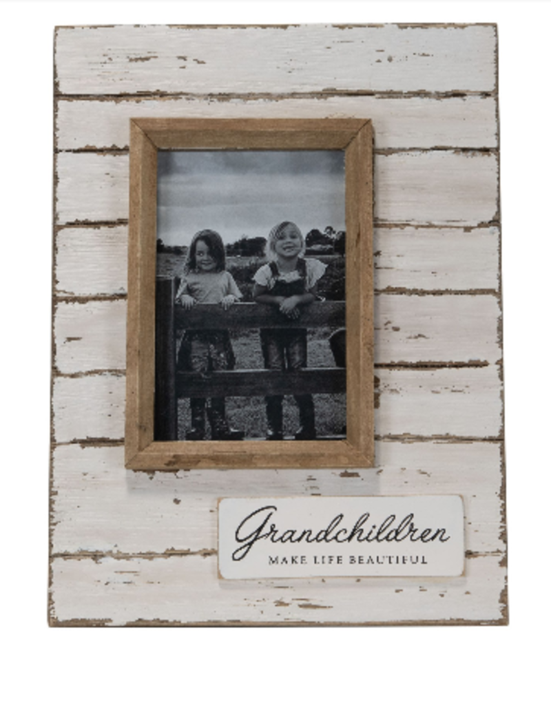 4x6 Jolene Grandchildren Photo Frame