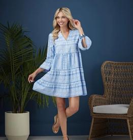 MUDPIE Renee Yarn Dye Dress