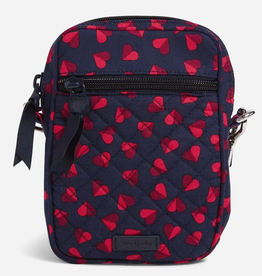 VERA BRADLEY RFID Small Convertible Crossbody : Sweet Hearts