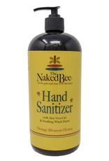 THE NAKED BEE 32oz Hand Sanitizer Orange Blossom Honey