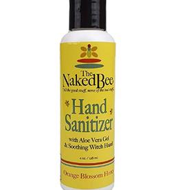 THE NAKED BEE 4 oz Hand Sanitizer Orange Blossom