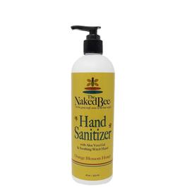 THE NAKED BEE 16oz Hand Sanitizer Orange Blossom Honey