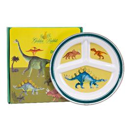 GOLDEN RABBIT II Dinosaurs Toddler Plate