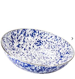 GOLDEN RABBIT II Cobalt Swirl Catering Bowl