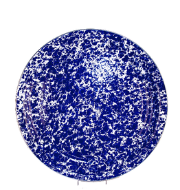GOLDEN RABBIT II Cobalt Swirl Medium Tray