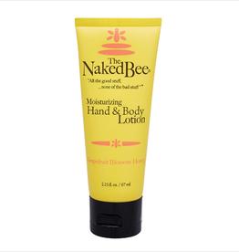 THE NAKED BEE Grapefuit Blossom Honey Hand Lotion 2.25 oz