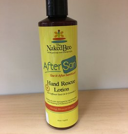 THE NAKED BEE AfterSan Hand Rescue Orange Blossom 8oz