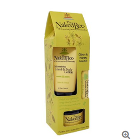 THE NAKED BEE Citron & Honey Gift Set Collection