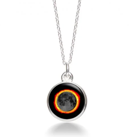 MOONGLOW JEWELRY SE - Solar Eclipse Necklace