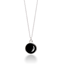 MOONGLOW JEWELRY 1A - Waxing Crescent Necklace