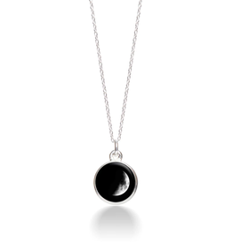 MOONGLOW JEWELRY 2A Waxing Crescent Necklace