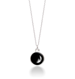 MOONGLOW JEWELRY 3A - Waxing Crescent Necklace