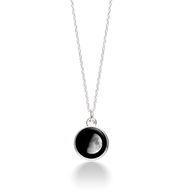MOONGLOW JEWELRY 5A - Waxing Gibbous Necklace