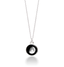 MOONGLOW JEWELRY 7A - Waxing Gibbous Necklace